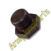 MB GPW M151 M38 CJ Willys Ford WII MV Drain Plug 7/8 in (oil pan) 639979