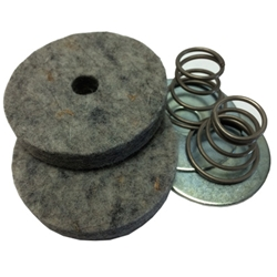 MB GPW M151 M38 CJ Willys Ford WII MV Clutch and Brake Pedal Pad - draft  with springs and washers (set) 807208