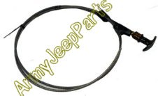 MB GPW M151 M38 CJ Willys Ford WII MV Dual Ventilaion Control deep water fording cable 801086