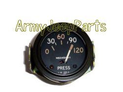 Oil Pressure, Gauge 24v with clamp  119085