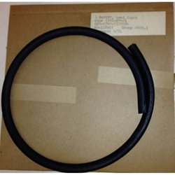 MB GPW M151 M38 CJ Willys Ford WII MV Seal, headlight door, Moulded rubber with internal wire.  118925