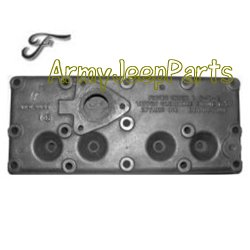 MB GPW M151 M38 CJ Willys Ford WII MV Cylinder Head, marked Ford GPW 6050