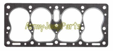 MB GPW M151 M38 CJ Willys Ford WII MV Cylinder Head Gasket  L head 134 638540