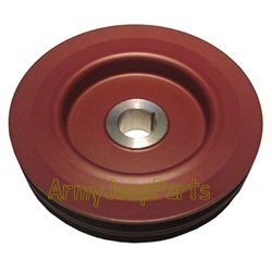 MB GPW M151 M38 CJ Willys Ford WII MV Pulley crankshaft, double groove 649722