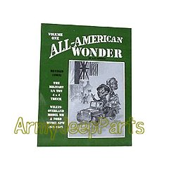 MB GPW M151 M38 CJ Willys Ford WII MV ALL AMERICAN WONDER Vol 1 Book AAW1