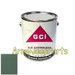 MB GPW M151 M38 CJ Willys Ford WII MV 319 WWII, LUSTERLESS (1 gallon) 319
