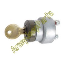 MB GPW M151 M38 CJ Willys Ford WII MV Ignition switch with H700 keys - MB A2517