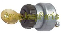 MB GPW M151 M38 CJ Willys Ford WII MV Ignition switch with H700 keys - GPW A2517-GPW