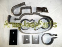 Deep Mud Exhaust Clamps Kit