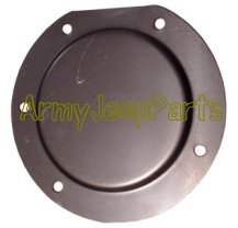 MB GPW M151 M38 CJ Willys Ford WII MV Master Cylinder Floor Inspection Cover A2990