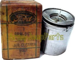 MB GPW and MB GPW Parts Oil Filter Element with ga