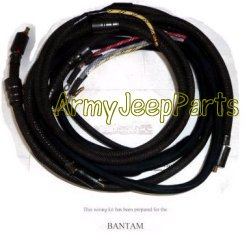 mb gpw and mb gpw parts for bantam trailer wiring harness kit
