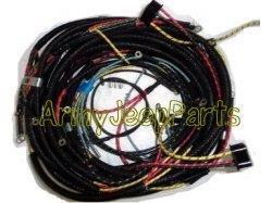 cj2a cj3a wiring harness kit cj2a wiring harness