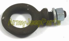 MB GPW M151 M38 CJ Willys Ford WII MV safety strap eye bolt with nut A2138
