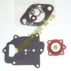 MB GPW M151 M38 CJ Willys Ford WII MV Carburetor soft gasket kit Zenith - M151 C181-350