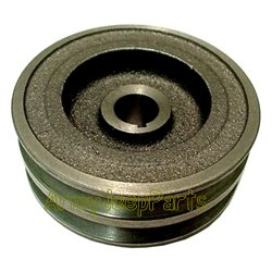 MB GPW M151 M38 CJ Willys Ford WII MV Pulley generator, two groove 24 volt 118824