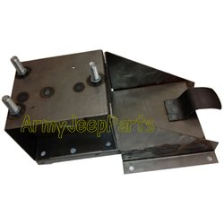 M38,M38A1 and M38 Parts for Willys M38 Jeeps Spare tire bracket upper and lower complete