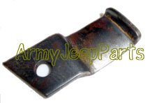 MB GPW M151 M38 CJ Willys Ford WII MV Exhaust Muffler Front Clamp to Flex mount A9086