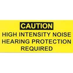 M151 Decal-High Intensity Noise 9905-00-198-2728