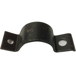 MB GPW M151 M38 CJ Willys Ford WII MV Muffler Clamp -pipe to skid plate side mount A1300