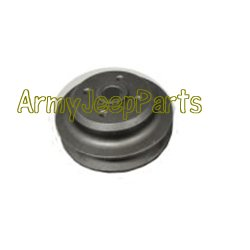 MB GPW M151 M38 CJ Willys Ford WII MV Water Pump Pulley - cast GPW-8509