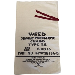 Bag Tire Chains Weed Marking GPW-18136-B