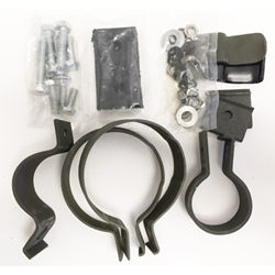 MB GPW and MB GPW Parts Exhaust clamps Kit