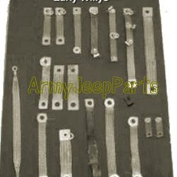 Bond strap kit complete - Early & Mid Willys AJP-324