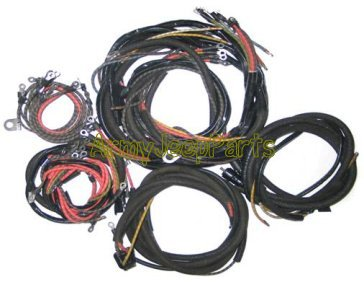 mb gpw and mb gpw parts for willys mb and ford gpw jeeps and the wwii rh armyjeepparts com Jeep CJ Wiring Harness Jeep XJ Wiring Harness
