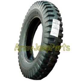 Military Jeeps For Sale >> Military Non Directional NDT 6 Ply WWII Profile STA | Tire 6:00 x 16 | Army Jeep Parts | www ...
