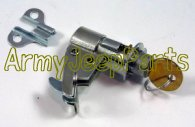 MB GPW M151 M38 CJ Willys Ford WII MV Tool Box Lock with H-700 key A2895