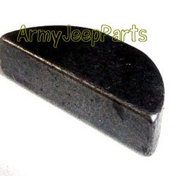 MB GPW M151 M38 CJ Willys Ford WII MV Key, woodruff, alloy-S, 3-16 x 3/4 (No. 606 or 9) 124549