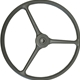 MB GPW M151 M38 CJ Willys Ford WII MV Steering Wheel assembly solid OD special material 800737